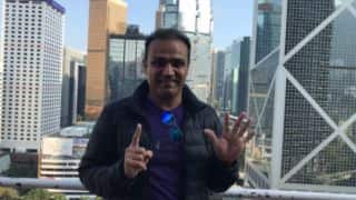 Virender Sehwag thanks fans for crossing 15 million followers on Twitter