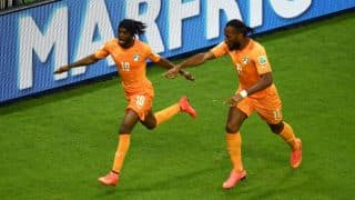 Ivory Coast beat Japan 2-1 in FIFA World Cup 2014 Group C match in Recife