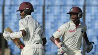 West Indies vs Bangladesh,1st Test Day 2 at St Vincent: Kraigg Brathwaite gets double ton, hosts make slow progress