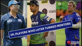 Tendulkar, Dravid, Warne and former IPL players who later turned support staff