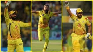 Video: Tahir, Raina, Jadeja star as CSK beat KKR