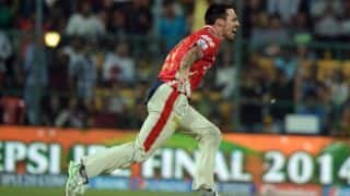 Mitchell Johnson's participation in CLT20 2014 delayed due to rib injury