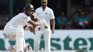SL vs BAN, 2nd Test, Day 2: Chandimal's 8th Test ton guides SL to 338 at lunch