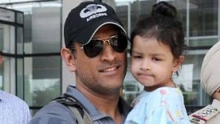 MS Dhoni reveals daughter Ziva dances better than him