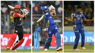IPL 2018, Match 14, RCB vs MI: Records for Kohli, Rohit, Bumrah