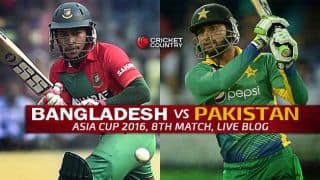 BAN 131/5 in overs 19.1 | Target 130 | Live Cricket Score Bangladesh vs Pakistan, Asia Cup 2016 BAN vs PAK, 8th T20I Match at Dhaka; Bangladesh win by five wickets