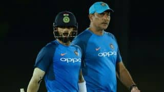 Shastri: Kohli learned a lot in tough South Africa tour