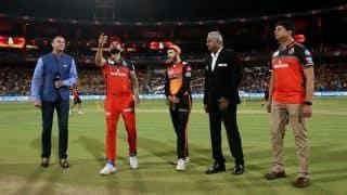 IPL 2019: RCB vs SRH, Toss report: Plenty of changes as RCB opt to bowl