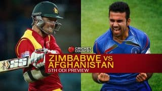 Zimbabwe vs Afghanistan 2015, 5th ODI at Bulawayo, Preview: Series set for exciting finale