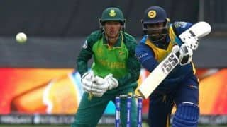 Cricket World Cup 2019 - You've got to play with freedom and embrace it: Angelo Mathews to Sri Lanka teammates