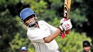 Ranji Trophy 2017-18, Round 6, Group C: Prithvi Shaw, Kedar Devdhar score hundreds; Madhya Pradesh struggle against Tamil Nadu on Day 1