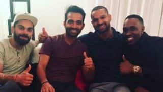 Virat Kohli, MS Dhoni and co. spend quality time at Dwayne Bravo's place post 2nd ODI win