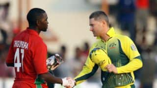Zimbabwe fans celebrate historic win