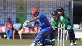 3rd ODI: Najibullah Zadran's unbeaten century carries Afghanistan to 256/8