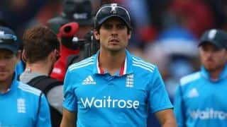 Alastair Cook is unhappy with England's batting performance