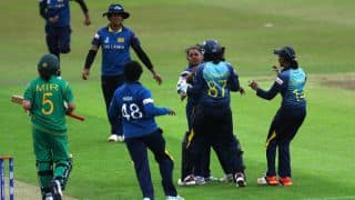 ICC WWC17: Manodara scores 84, Gunaratne bags 4-for as Sri Lanka defeat Pakistan by 15 runs