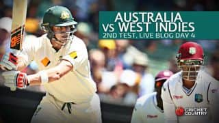 WI 282 in 88.3 Overs | Target 460│Live Cricket Score, Australia vs West Indies 2015-16, 2nd Test at Melbourne, Day 4; Australia win by 177 runs