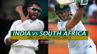 Live Cricket Score India vs South Africa 2015, 2nd Test at Bengaluru, Day 2: Play called off due to rain