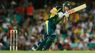 Australia vs England Live Score, 4th ODI: Shaun Marsh dismissed by Steven Finn