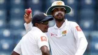 Sri Lanka announce Test squad for 2017 India tour