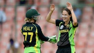 ENG W 127/7 in overs 20, Live Cricket Score, Australia Women vs England Women, Women's T20 World Cup 2016, AUS W vs ENG W, Semi-Final 1 at Delhi: AUS W win by 5 runs
