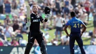 Stats: Milestones ticked off by Martin Guptill and Jimmy Neesham during New Zealand's 371/7