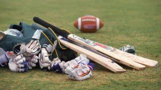 Sandeep Warrier's five-wicket haul restricts Hyderabad