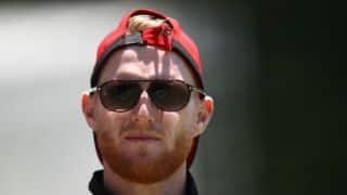 Ben Stokes arrives at Bristol Court to face affray charges