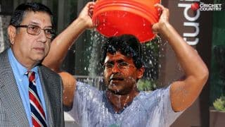 Lalit Modi nominates N Srinivasan for ALS Ice Bucket Challenge!