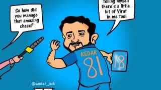 Is there a bit of Kohli in Jadhav?