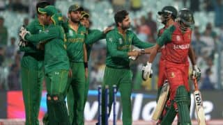 Pakistan vs Bangladesh, ICC World T20 2016 Match 14 at Kolkata
