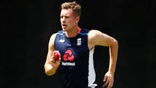 Jake Ball added to England's squad as a cover for Liam Plunkett in the T20I tri-series