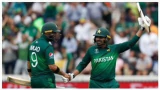 ICC CRICKET WOLRLD CUP 2019: Haris Sohail Scores 89, South Africa hold Pakistan to 308/7
