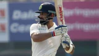 Kohli becomes first IND captain to score 0 and 100 in the same Test