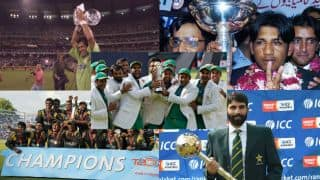 Pakistan complete ICC set, other statistical highlights from their clash against India in ICC Champions Trophy 2017 final