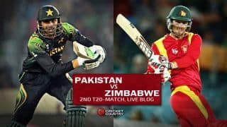 Live Cricket Score Pakistan vs Zimbabwe, 2nd T20 International at Lahore: Pakistan win by 2 wickets with 2 balls to spare