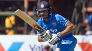 Manish Pandey scores 2nd ODI fifty in India vs Australia 2015-16, 5th ODI at Sydney