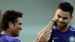 VIDEO: When Kohli did a Tendulkar!
