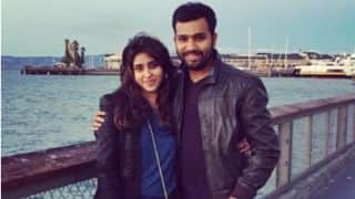 Rohit Sharma's 3rd ODI double century leaves Ritika Sajdeh emotional