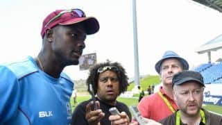 'It's great to be 1-0 up, but that's history': Jason Holder