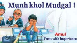 Amul's ad on Justice Mudgal panel's report on IPL 2013 spot-fixing