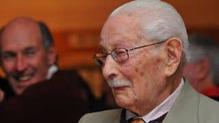 Norman Gordon, world's oldest cricketer, very ill as he approaches 103rd birthday