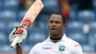 Marlon Samuels helps West Indies to 299 against England on Day 2 of the 2nd Test at Grenada