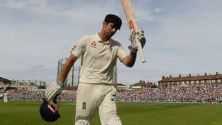 Tea report: India chip away after Alastair Cook, Joe Root tons