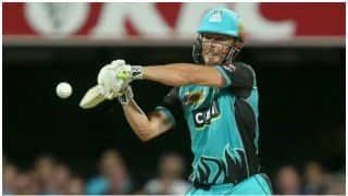 ऑस्ट्रेलियाई सरजमीं पर टी20 में 100 छक्के लगाने वाले पहले बल्लेबाज बने क्रिस लिन