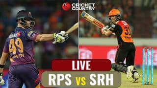 Highlights, RPS vs SRH, IPL 10, Match 24: RPS win by 6 wickets