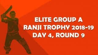 Ranji Trophy 2018-19, Round 9, Elite A, Day 4: Saurashtra pocket 3 points versus Vidarbha, qualify for knockouts