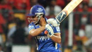 Mumbai Indians keep Rajasthan Royals in check in IPL 2014
