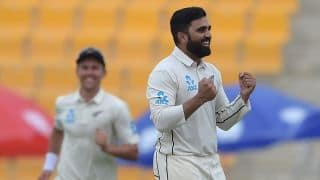 Pakistan vs New Zealand: Debutant Ajaz Patel bowls Kiwis to four-run win