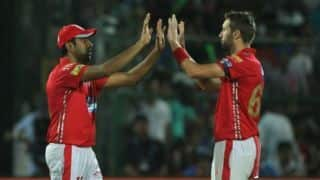 IPL 2018: Kieron Pollard, Andrew Tye star; KXIP need 187 to end MI hopes